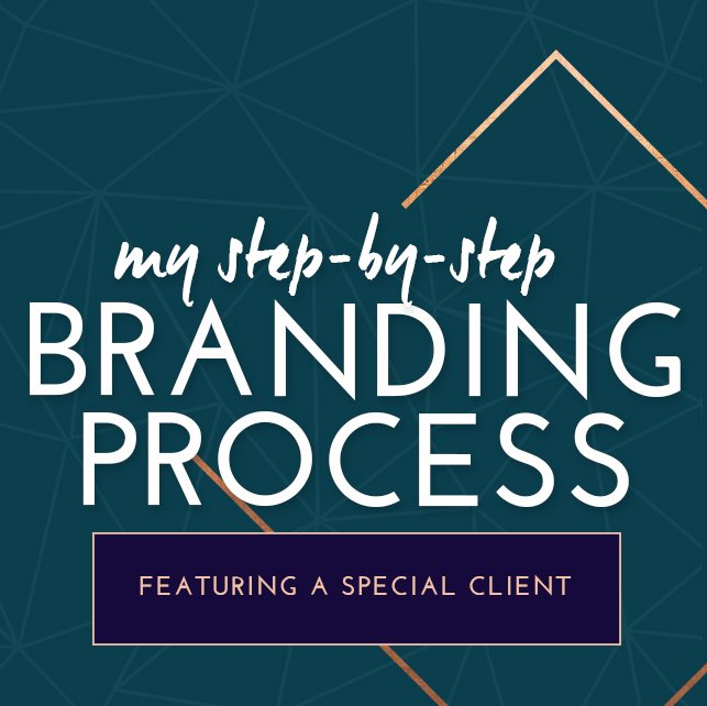 My Step-by-Step Branding Process