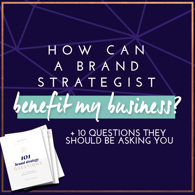 How Can a Brand Strategist Benefit My Business?