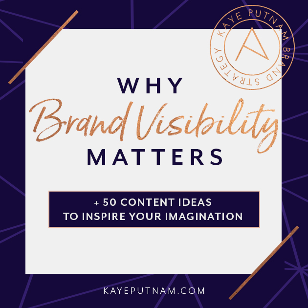 Why Brand Visibility Matters