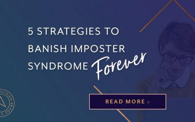 For all entrepreneurs, at some point, imposter syndrome *will* rear its ugly head. But when it does, I hope you'll remember (or bookmark) these strategies so you can get over it, move on, and keep sharing your genius with the world.