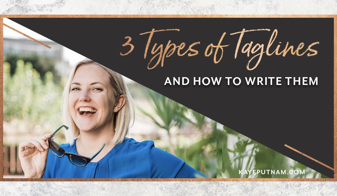 3 Types of Taglines & How to Write Them