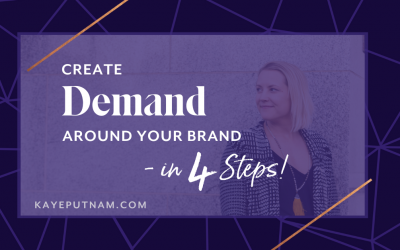 Create Demand Around Your Brand Horizontal