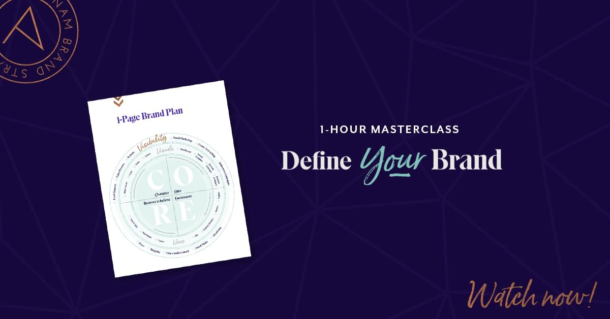 Define Your Brand Masterclass
