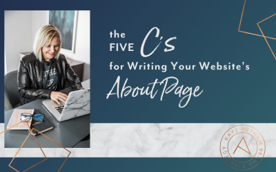 Writing A Website About Page That Connects and Converts