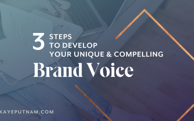 Finding Your Brand Voice - You want to cultivate a compelling brand voice that attracts your ideal clients, right? Following these steps will make your brand memorable and relatable.