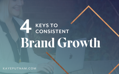 "4 Keys to Brand Growth. Trying to balance client work with work on your own brand? Here's how to get off the ""hustle-do see-saw"" - and experience consistent brand growth instead."