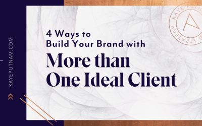 Brand Strategy for More than one ideal client - pin