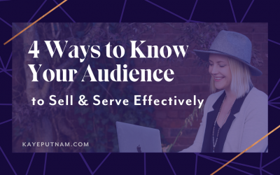 4 Ways to Know Your Audience - Pin